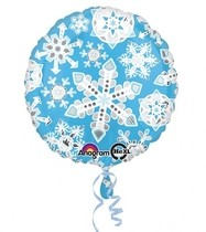 Vločky balónek 43 cm