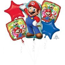 Super Mario Bros balónky sada 5 ks