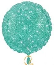 Balónek kruh zelený - hvězdy