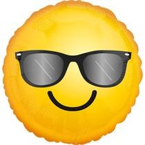 Smajlík a sluneční brýle balónek 43 cm