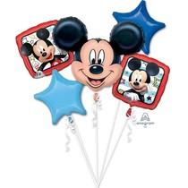 Mickey Mouse balónky sada 5 ks