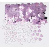 Konfety srdíčka světle růžové 14 g