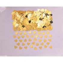 Konfety zlatá srdíčka 14 g
