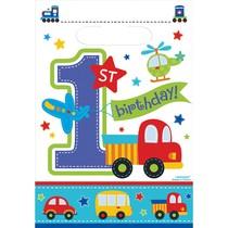 1. narozeniny kluk taška 8 ks