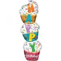 Cupcake balónek 33 cm x 104 cm