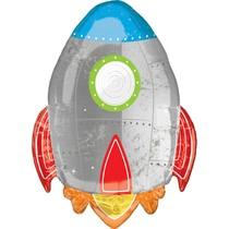 Raketa balónek 53 cm x 73 cm