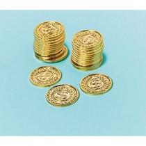Mince zlaté 144 ks 3,4 cm x 3,4 cm