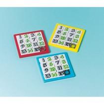 Posuvné puzzle čísla 12 ks