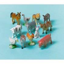 Zvířátka z farmy plastové 12 ks