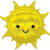 Slunce balónek holografický 68 cm x 68 cm