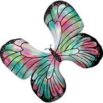 Motýl balónek holografický 76 cm x 66 cm