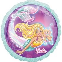 Barbie mořská panna balónek 42 cm