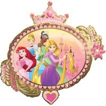 Princess balónek 86 cm x 81 cm