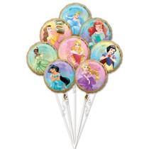 Princess balónky sada 8 ks