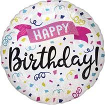 Balónek narozeniny 42 cm