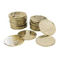 Piráti mince 72 ks 3,3 cm x 3,3 cm