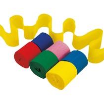Krepový papír 6 ks mix barev