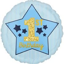 1. narozeniny balónek kluk 42 cm