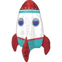 Raketa balónek 53 cm x 40 cm