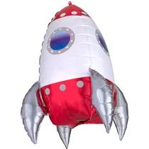 Raketa balónek velký 73 cm x 55 cm