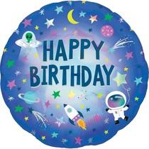 Vesmír balónek narozeniny 45 cm