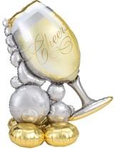 Balónek sklenička 129 cm