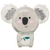 Koala balónek fóliový 71 cm x 63 cm