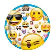 Emoji talíře 8ks 17,1cm