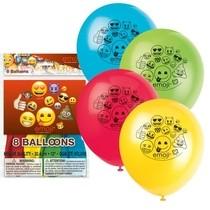 Emoji balonky 8ks 30cm