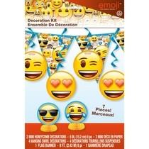 Emoji dekorační set 7ks