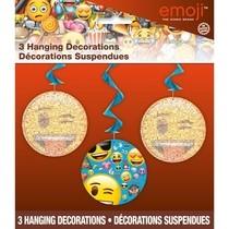 Emoji závěsné dekorace 3ks 70cm