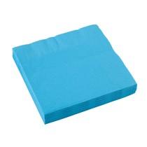 Ubrousky modré 20 ks 33 cm x 33 cm 2-vrstvé
