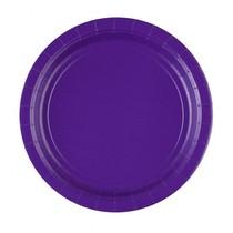 Talíře Purple 8ks 23 cm