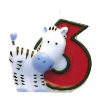 Safari svíčka číslo 6