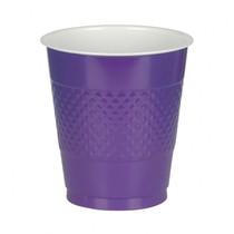 Kelímky Purple 10ks 355ml plastové