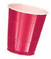 Kelímky Apple Red 10ks 355ml plastové