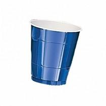 Kelímky Navy Blue 10ks 355ml plastové
