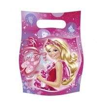 Barbie taška 6ks, 16,5cm x 23cm