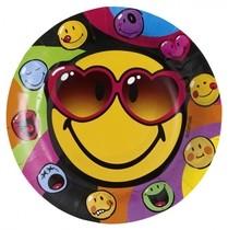 Smiley Express talíře 8ks 23cm