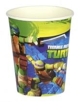 Želvy Ninja kelímky na pití 8ks 0,25l