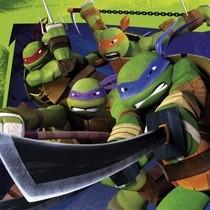 Želvy Ninja ubrousky 20ks 33cm x 33cm