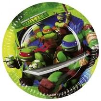 Želvy Ninja talíře 8ks 18cm