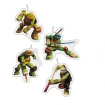 Želva Ninja dortové svíčky 4ks