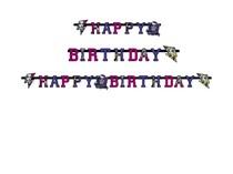 Monster High 2 narozeniny nápis 180 x 15cm