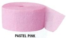 Krepový papír Pink 24,6m x 4,4cm