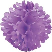 Papírová dekorace kulatá fialová 30,4cm