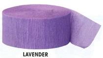 Krepový papír Lavender 24,6m x 4,4cm