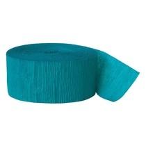 Krepový papír Turquoise 24,6m x 4,4 cm