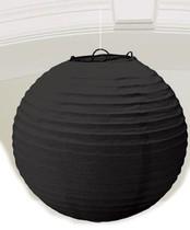 Lampion černý 25cm