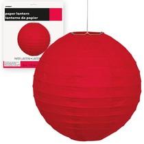 Lampion červený 25cm
